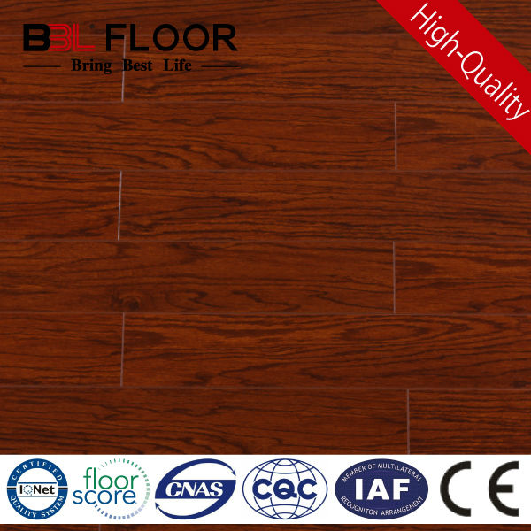 8mm AC3 medium Ireland emboss brazilian mahogany flooring 98884-1