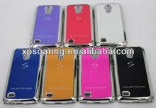 for Samsung Galaxy S4 mini S line chrome case back cover
