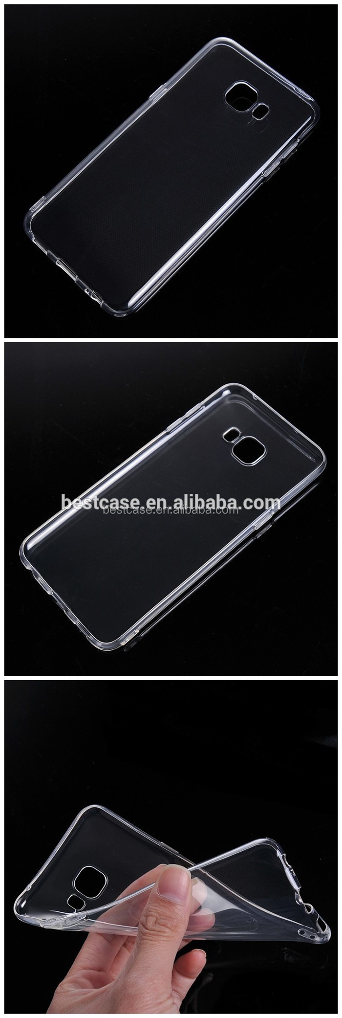 Ultra Thin Transparent Phone Case for ZTE Blade A520, for ZTE Blade A520 Case