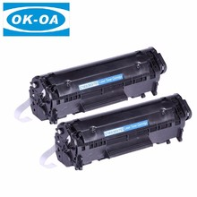 Factory direct sale CRG 103 303 703 compatible toner cartridge spare parts refill for Canon printer LBP-2900/2900B/3000