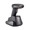 long distance 1D wireless RF 433 CCD portable barcode scanner with cable