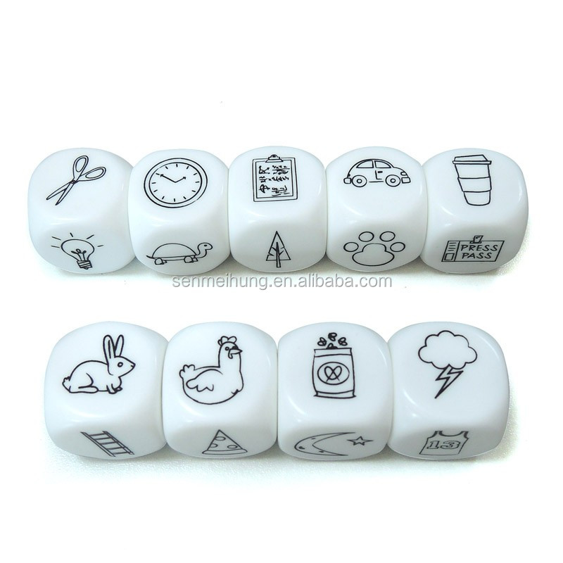 Story Telling Educational Dice Game