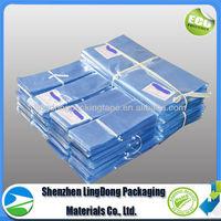 PE PVC POF shrinkable plastic bag clear plastic bag pictures of plastic bags