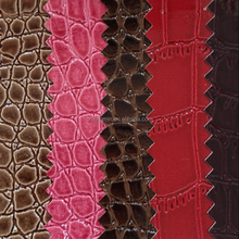 Manufacturer pvc crocodile pattern leather for handbag and sofa usage