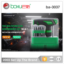 ba-3037 36 in 1 multi mini cordless promotional iphone screwdriver kit set tools for iphone