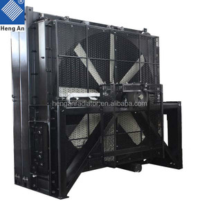 2000kw Aluminum copper radiator for Cummins diesel generator set QSK60-G13 Series engine