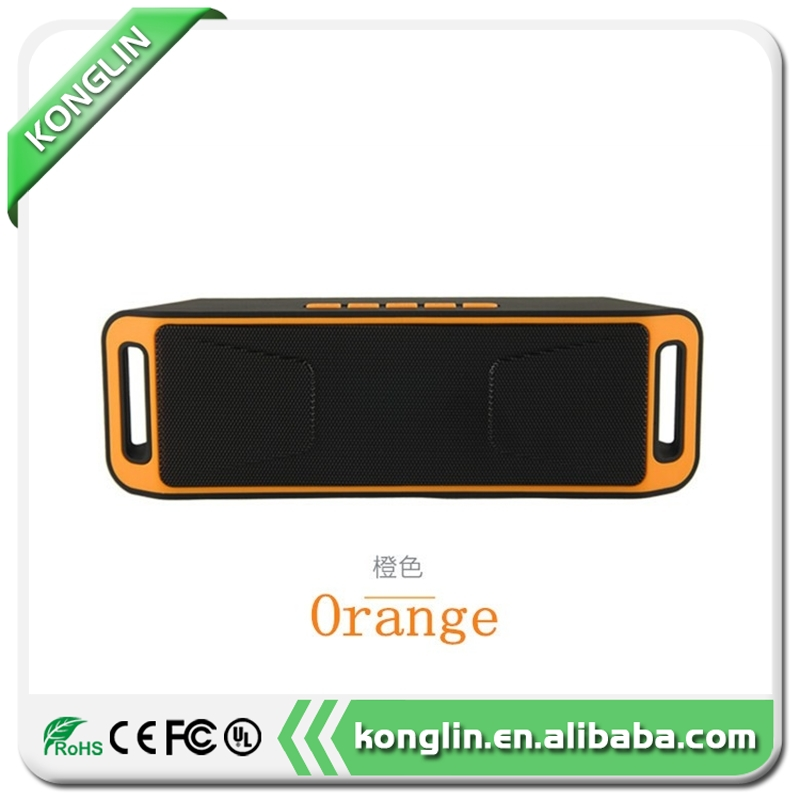 Multifunctional portable multimedia speaker usb speakers mini music car speaker sc208 with high quality