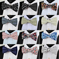 Cotton Cheap Price Hand Made Bow Tie Men Woman