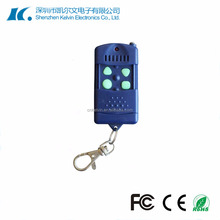 Blue Case 4 Buttons Wireless RF Remote Control KL258-4