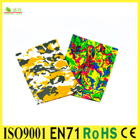 SGS&EN71 Aprroved High quality stationery set Goma EVA foamy paper for kids' craft