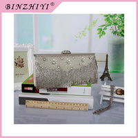 Ladies clutch clear fancy beaded and studded evening clutch