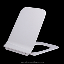 scratch-resistant elongated toilet seat slim design european duroplast toilet seat