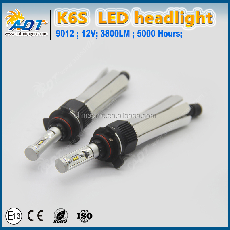 Canbus H4 H7 9005 9006 9004 9007 9012 High Power LED Headlight 3800LM Car LED Headlights Bulb for Audi A4L,A6,Q5,Q7
