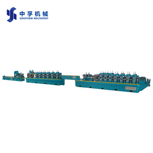 HG45 CE standard galvanized stainless steel pipe making machine