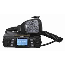 75W High Power QYT KT-UV980 Plus Mobile Radio Multiple Function VHF/UHF Dual Band Quad Standby Vehicle Transceiver Radio