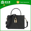 Vintage leather bag high quality small box handbag leather bag woman handbag