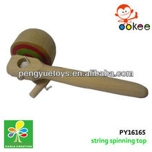 Wooden whipping-pull string type