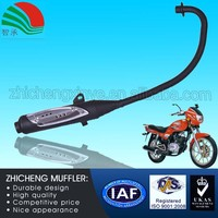 125CC Universal Used Stainless Steel Motorcycle Silencer in Exhaust System