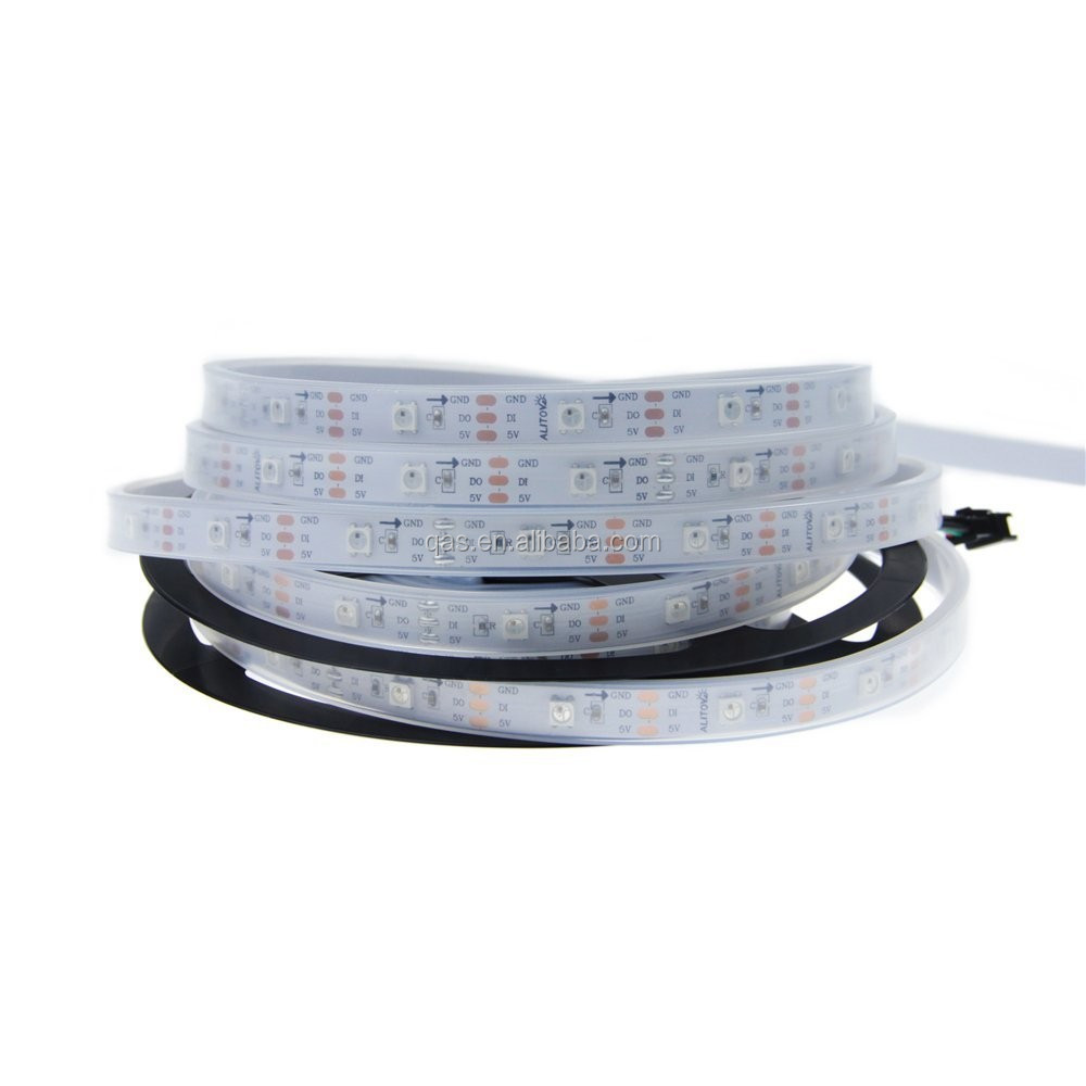 5m WS2811 50 ICs 5050 Digital RGB LED Strip for decoration of building outlines