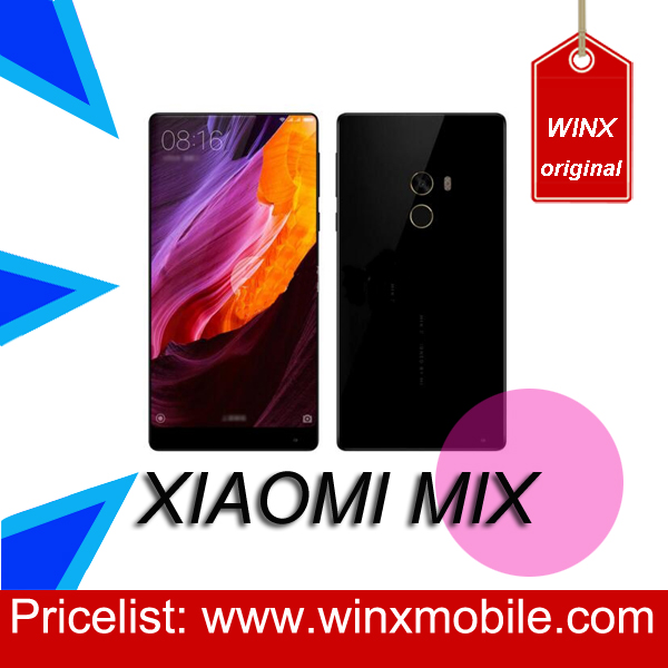 2016 smart mobile phone for Original Xiaomi mi MIX 4GB 128GB black android smartphone