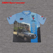 Moisture wicking sublimated motocross jerseys