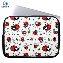 Cute Ladybug Pattern Neoprene Computer Sleeve Laptop Case