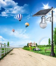 Innovation 9W 2015 design 8w 12w and 20w solar garden ligh with best price