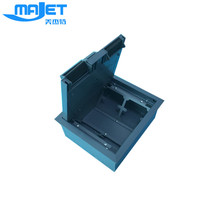 Raised floor accessories steel electrical outlet box
