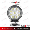 "4.3"" round 2250lumen 27w led, 27w led work light, new 27w car led tuning light led work light"