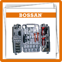 Bossan tools,92 pc Hand Tools,Combination,Drills,Knives Type and Case Package TOOL