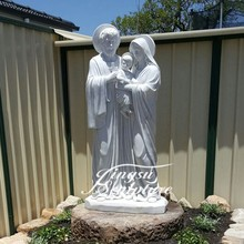 Professional holy family statue outdoor