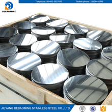 Cold rolled universal customize BA surface circle 304 stainless steel price per kg