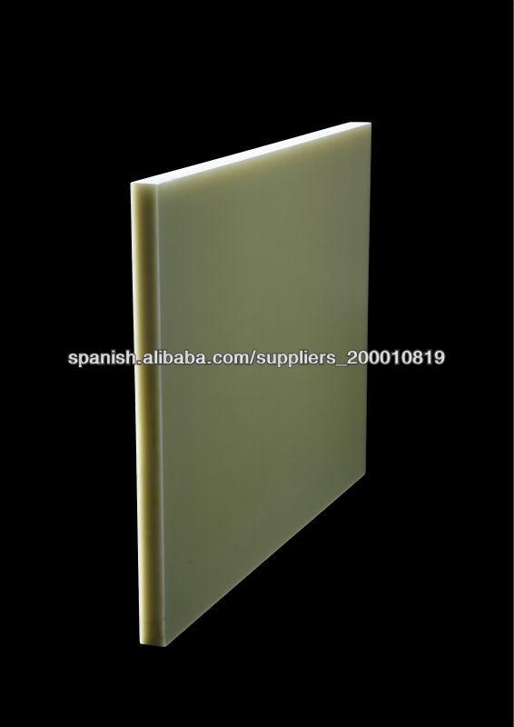Epoxi fibra de vidrio laminado de la hoja materiales y - Aislamiento fibra de vidrio ...