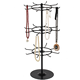 Rotating rack for Accessories / Revolving 3 tiers metal wire hanging rack