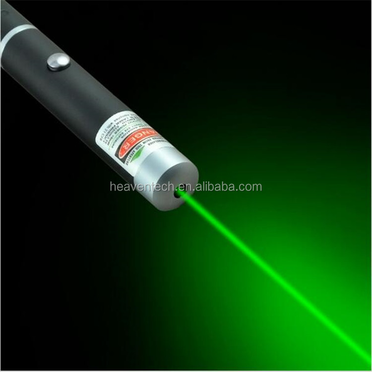 New Arrival 5mW Pen Shaped Single Point LED Red/Green Beam Laser Pointer Pen for Work Teaching Meeting