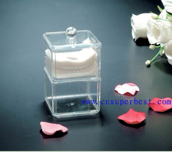 Customized Clear Acrylic Counter skin care acrylic cosmetic display