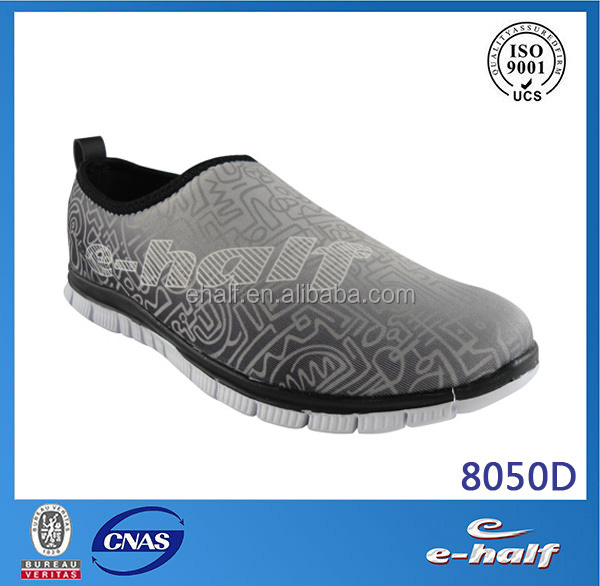 comfortable soft sole lady cloth gym shoes