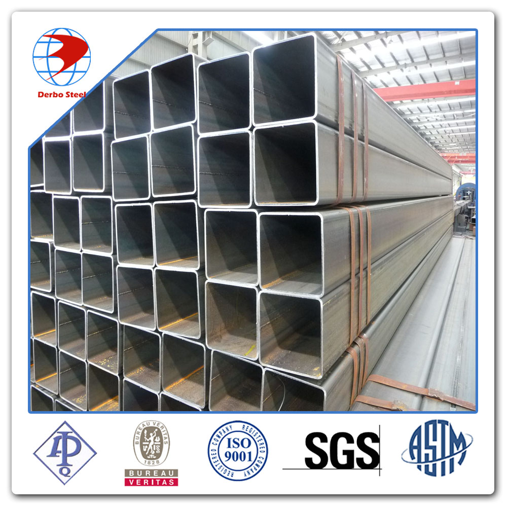 q195 low carbon steel square and ectangualr tube China supplier