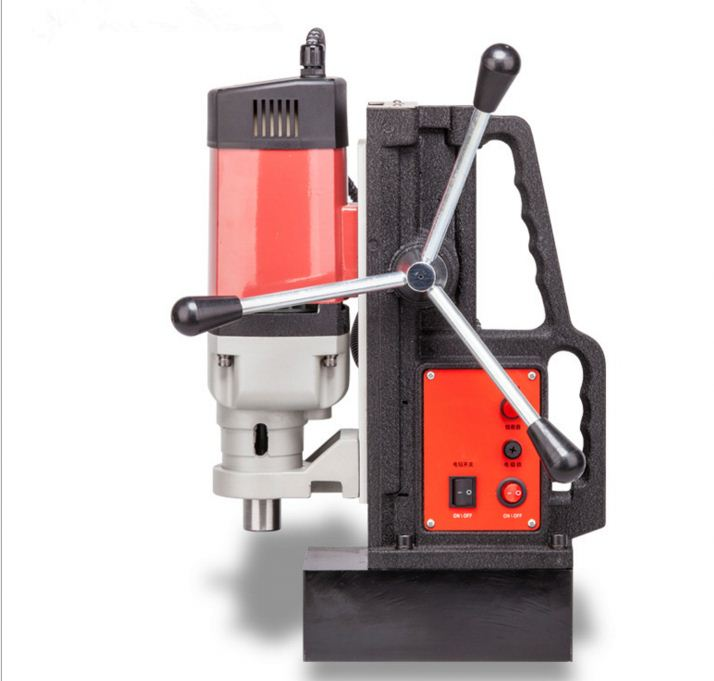 Industrial electric power tools magnetic drill machine heavy duty bench drilling machine 220v magnetic base drill