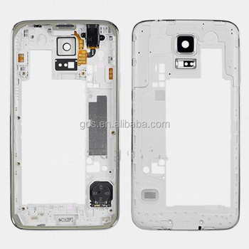 For Samsung Galaxy S5 Back Piece Frame Assembly