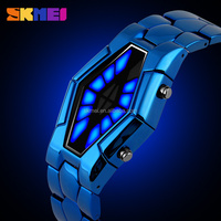 Blue strap Led lava watches