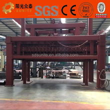 High efficient foam concrete brick making machine / flyash brick making machine / aac block machine