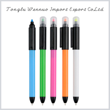 2015 newest best selling products novelty fancy highlighter pen