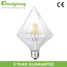 Diamond DIY shape and custom design fantastic decorative filament led bulbs