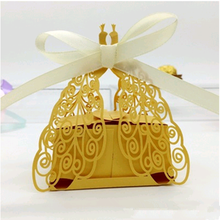 Hundreds of stocks European style wedding favor box