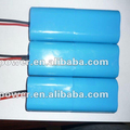 on sale!!!High capacity lifepo4 battery pack 6.4v 1300mAh rechargeable lifepo4 battery pack with PCB