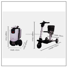 wholesale adult 3 wheel folding electric mobility scooter