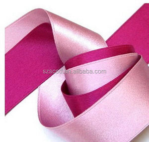 Custom High Quality Cheap Price Single Double Face Polyester Satin Ribbon