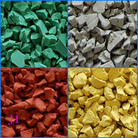 Wise choice!! EPDM Rubber Particles/ EPDM pellets for playgroud/EPDM granules