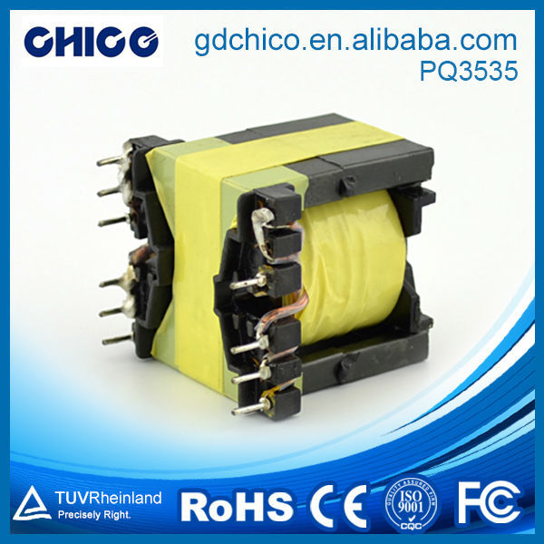 PQ3535 high saturation current electrical power transformer